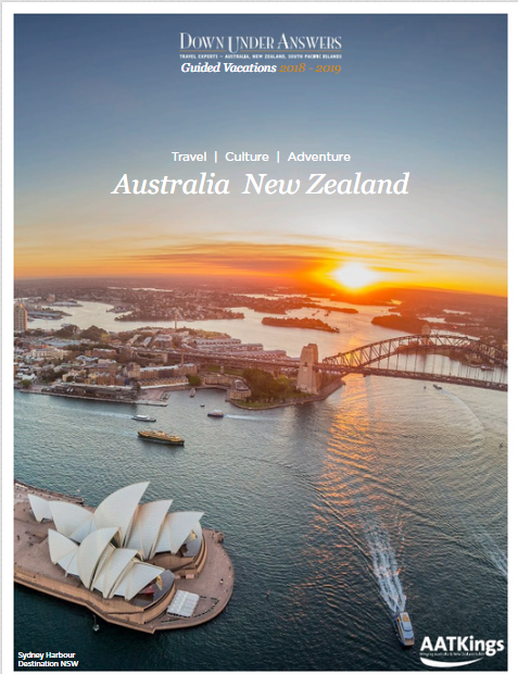 Down Under Answers Guided Vacations Australia & New Zealand 2018-19