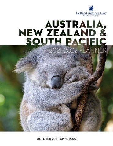 Australia, New Zealand & South Pacific Planner 2021-2022