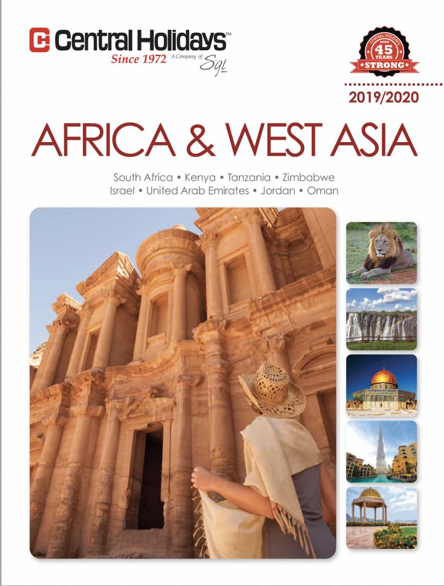 Central Holidays Africa-West-Asia 2019-2020