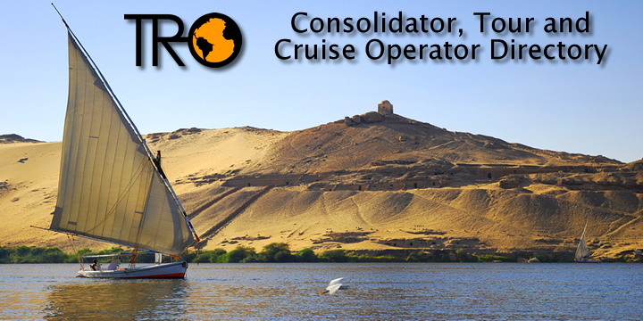 TRO Consolidator, Tour and Cruise Operator Directory.