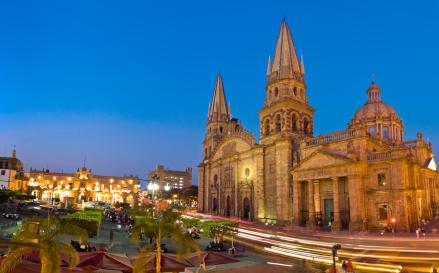 Guadalajara Cathedral Mexico