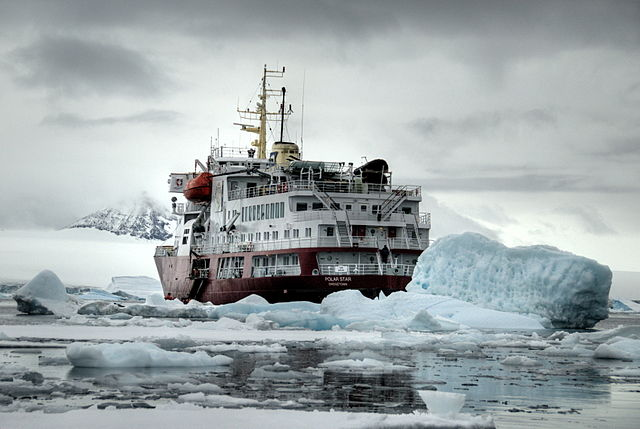 An expedition to Antarctica is one of the most stunning adventures you can undertake in modern times. Photo courtesy of Wikipedia.