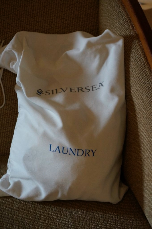 An appreciated perk, free laundry. © 2014 Ralph Grizzle