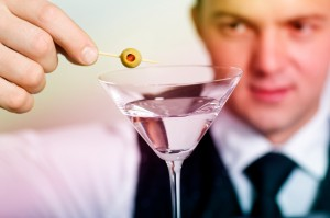 Barman with Drink