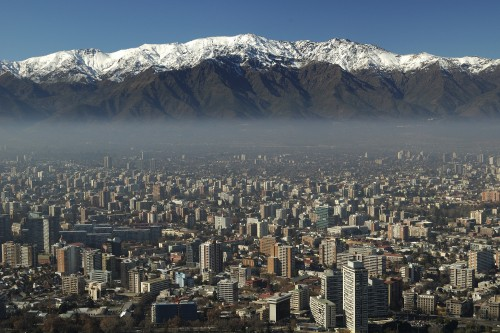 Santiago: in the shadow of the Andes