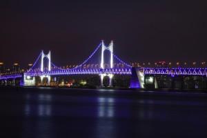 Gwangan Grand Bridge, Busan, Korea