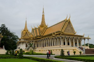 The Royal Palace in Phnom Penh, Cambodia. Photo © Aaron Saunders