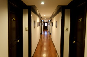 Besides the itinerary and service, it is these air-conditioned corridors that are one of the defining features aboard AmaWaterways' AmaLotus. Photo © 2013 Aaron Saunders