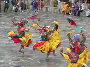 Bhutanese Tsechu festival dances