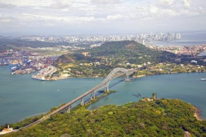 Bridge of the Americas, the Panama Canal
