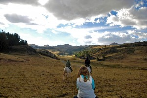 Sacsayhuaman riding