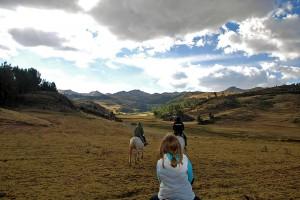 Sacsayhuaman riding