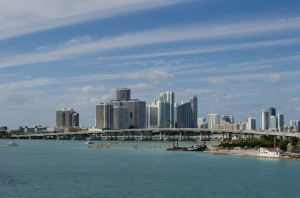 We embarked MSC Divina in the cruise capital of the world, Miami, Florida. Photo © 2015 Aaron Saunders