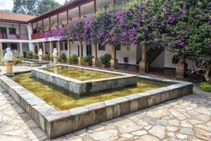 Monastery Courtyard, Villa De Levya, Colombia