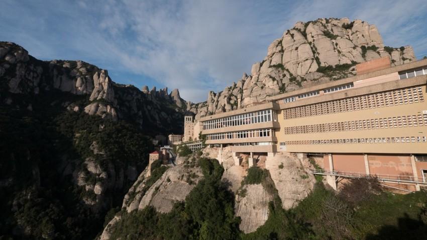 Montserrat monastery. © 2014 Ralph Grizzle