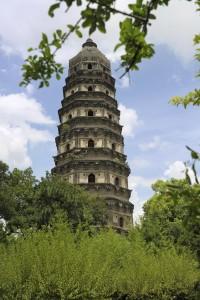 Pagoda On Tiger Hill