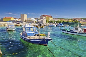 Adriatic Town of Razanac, Croatia