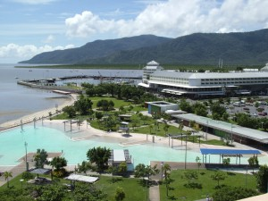 Cairns Lagoon and Pier