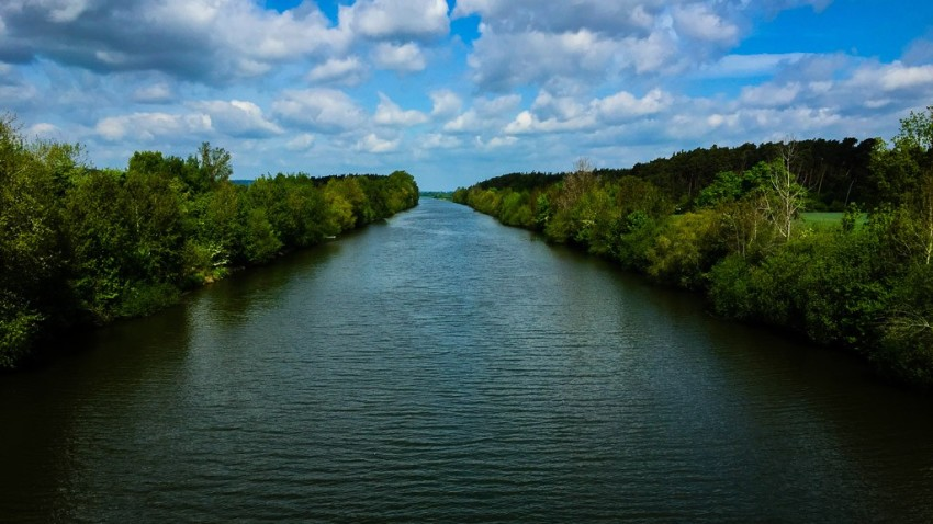 The Main-Danube Canal. © 2015 Ralph Grizzle