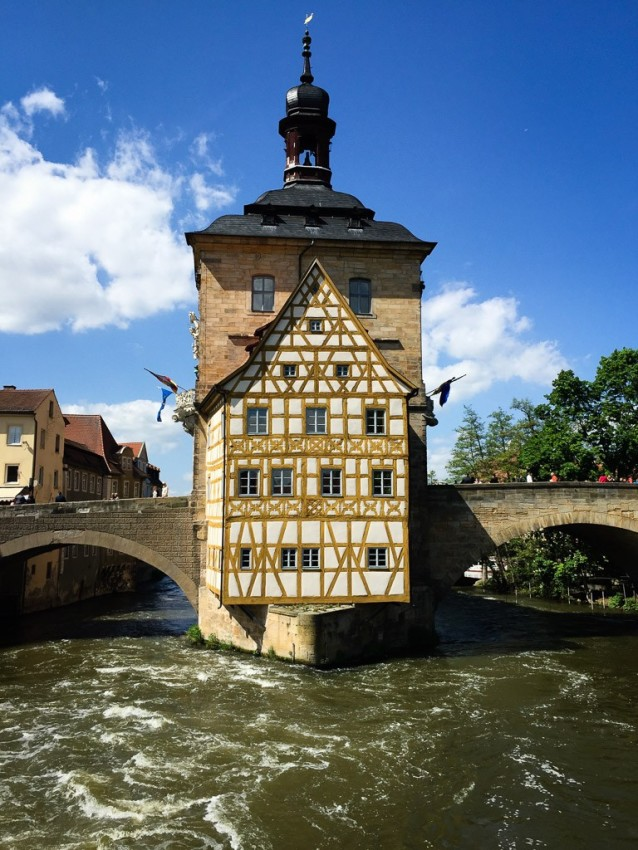 Altes Rathaus, Bamberg. © 2015 Ralph Grizzle
