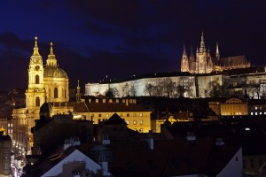 Prague Castle At Night - Martin Marak