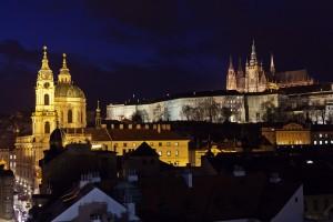Prague Castle At Night - Martin Marak
