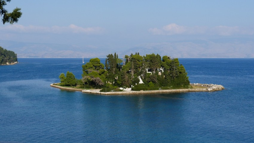 Mouse Island in Corfu. © 2014 Avid Travel Media