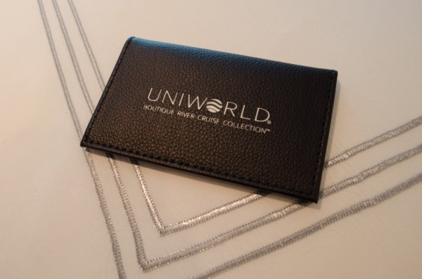 Few details have been overlooked, including this unexpectedly luxe touch: a keycard holder. Photo © 2015 Aaron Saunders