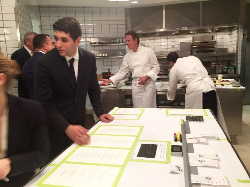 Thomas Keller took us behind the scenes for a tour of the Per Se kitchen. © 2015 Ralph Grizzle