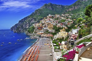 View Of The Coast Of Positano