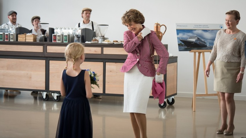 Her Royal Highness Princess Margriet with Mai Elmar, pictured right. © 2015 Ralph Grizzle