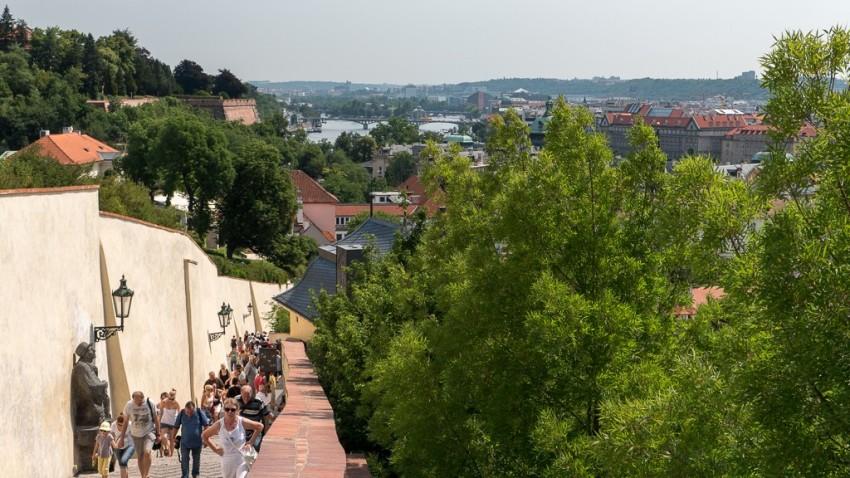 View from Prague Castle. © 2015 Ralph Grizzle