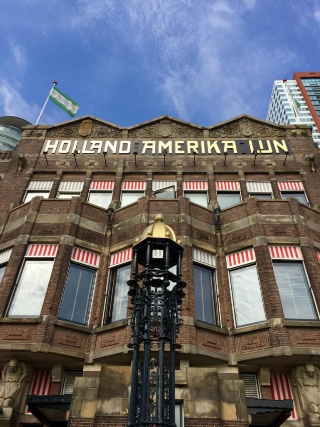 Holland America Line's original headquarters. © 2015 Ralph Grizzle