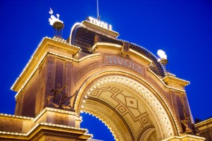 Gate to Tivoli Gardens