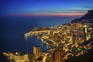 Monte Carlo At Sunset