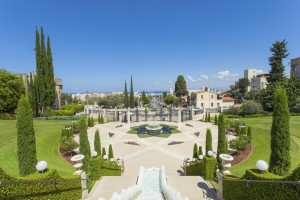 Baha'i Gardens And Temple