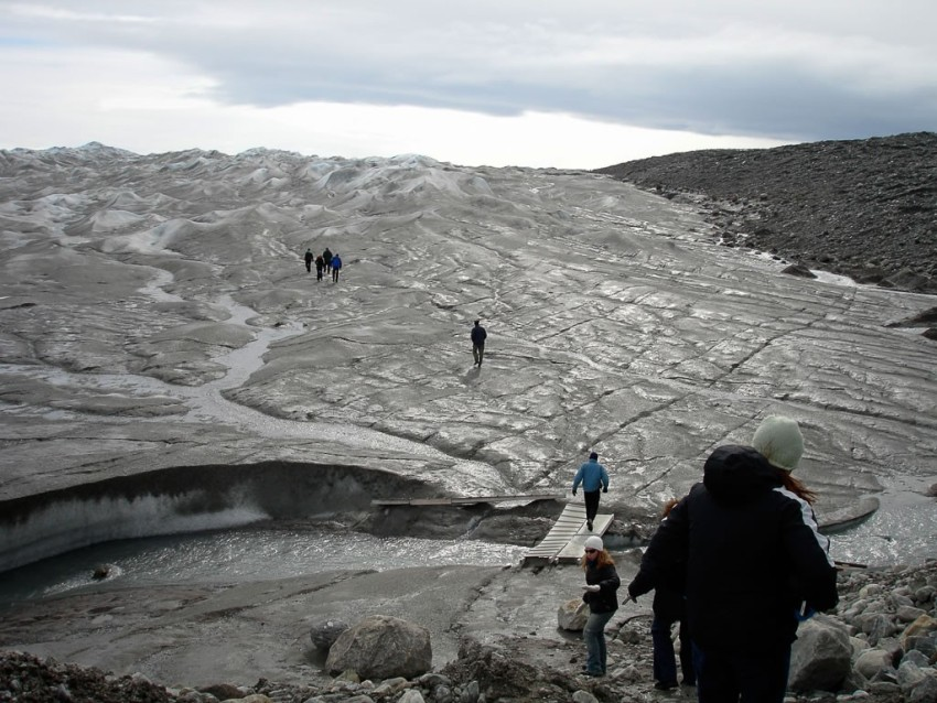On Greenland's glaciers. © 2010 Ralph Grizzle