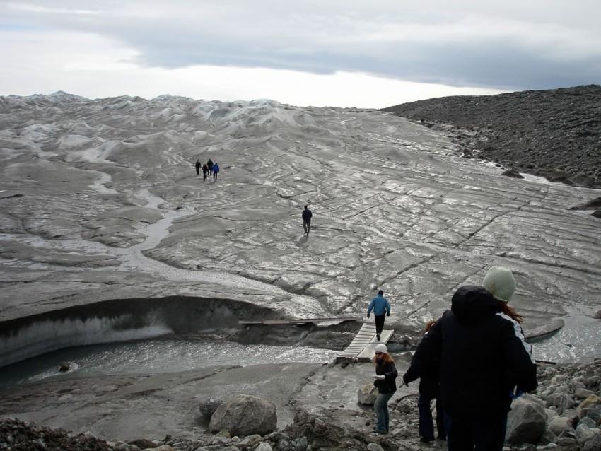 On Greenland's glaciers. © 2010 Ralph Grizzle