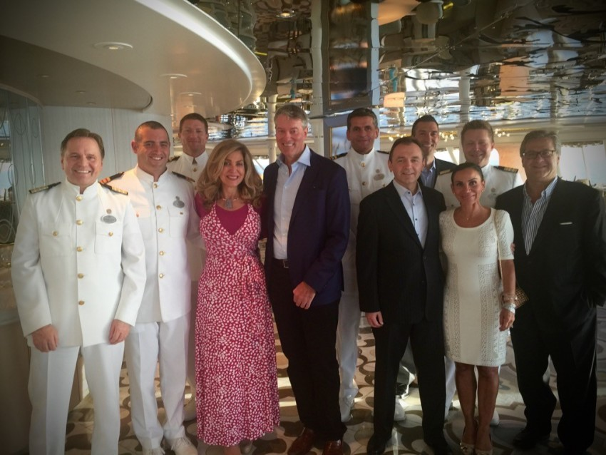 In the company of Crystal Cruises' star-studded leadership. Congrats on a great Gala event honoring hard-working cruise sellers who strive to steer their clients toward life-enriching experiences. © 2015 Ralph Grizzle