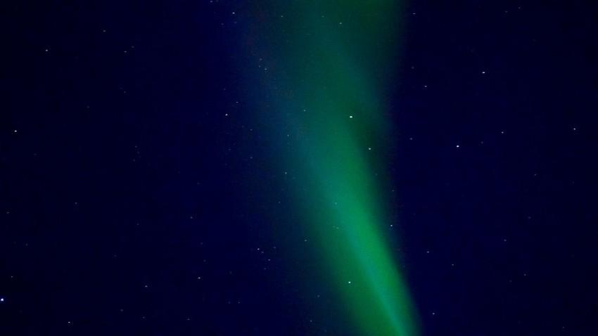 Beautiful streaks of light across the night sky. © 2015 Ralph Grizzle