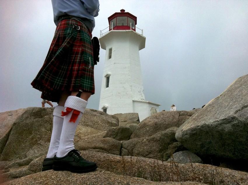 Peggy's Cove, Nova Scotia. Photo © 2012 Ralph Grizzle