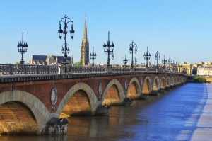 Bridge over Garonne River