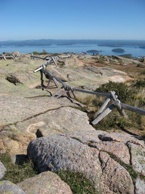 Acadia National Park, near Bar Harbor, Maine, offers spectacular vistas. Photo © Aaron Saunders