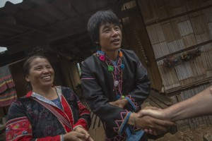 Homestay hosts Nahu and Yajoe, who will be welcoming travelers into their home. They are members of the Red Lahu hill tribe in the Mae Hong Son district of Northern Thailand, one of the experiences travelers will enjoy on the Northern Thailand Hilltribes Trek.
