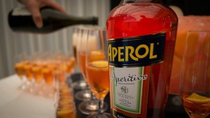 Time for an Aperol Spritz.