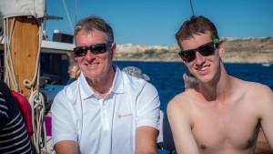 On a shore excursion in Malta.