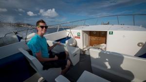 Fast boat tour in Malta.