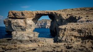 Azure Window in Malta.