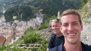 Hiking in Amalfi.