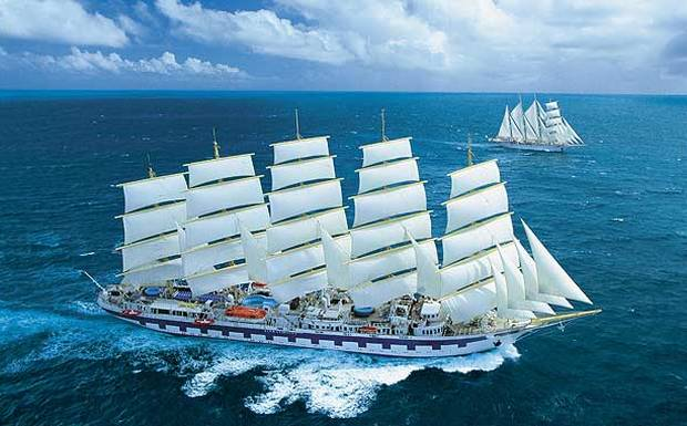 Why not go sailing through the Caribbean with Star Clippers?